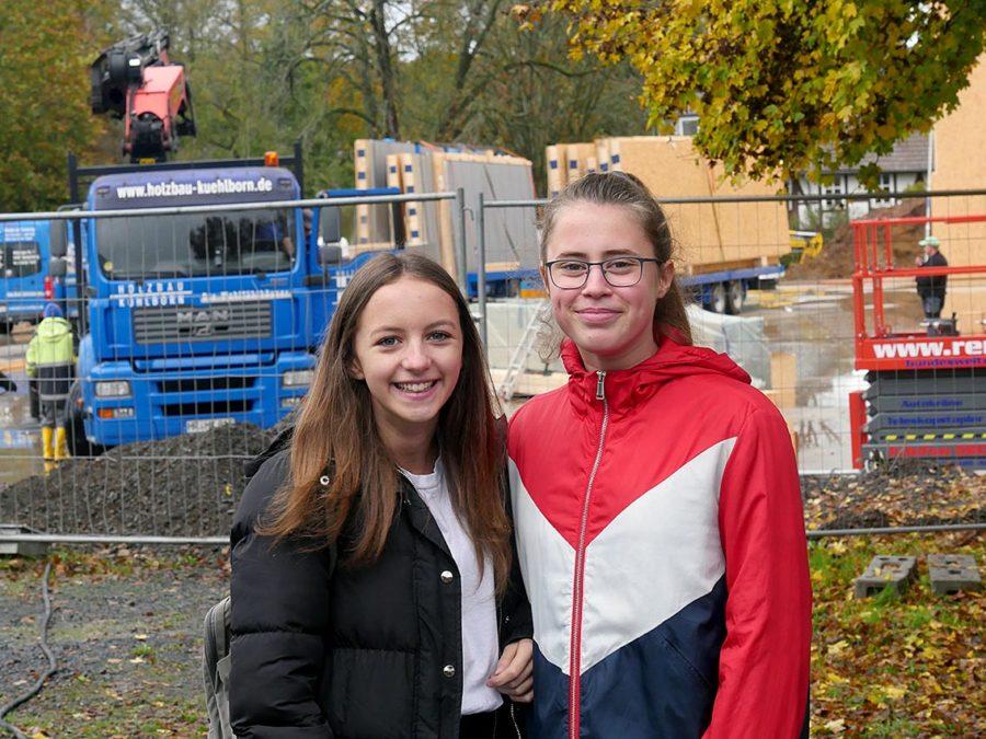 Lynn & Samira & Bautechnik | Foto: A. Bubrowski/CJD Oberurff
