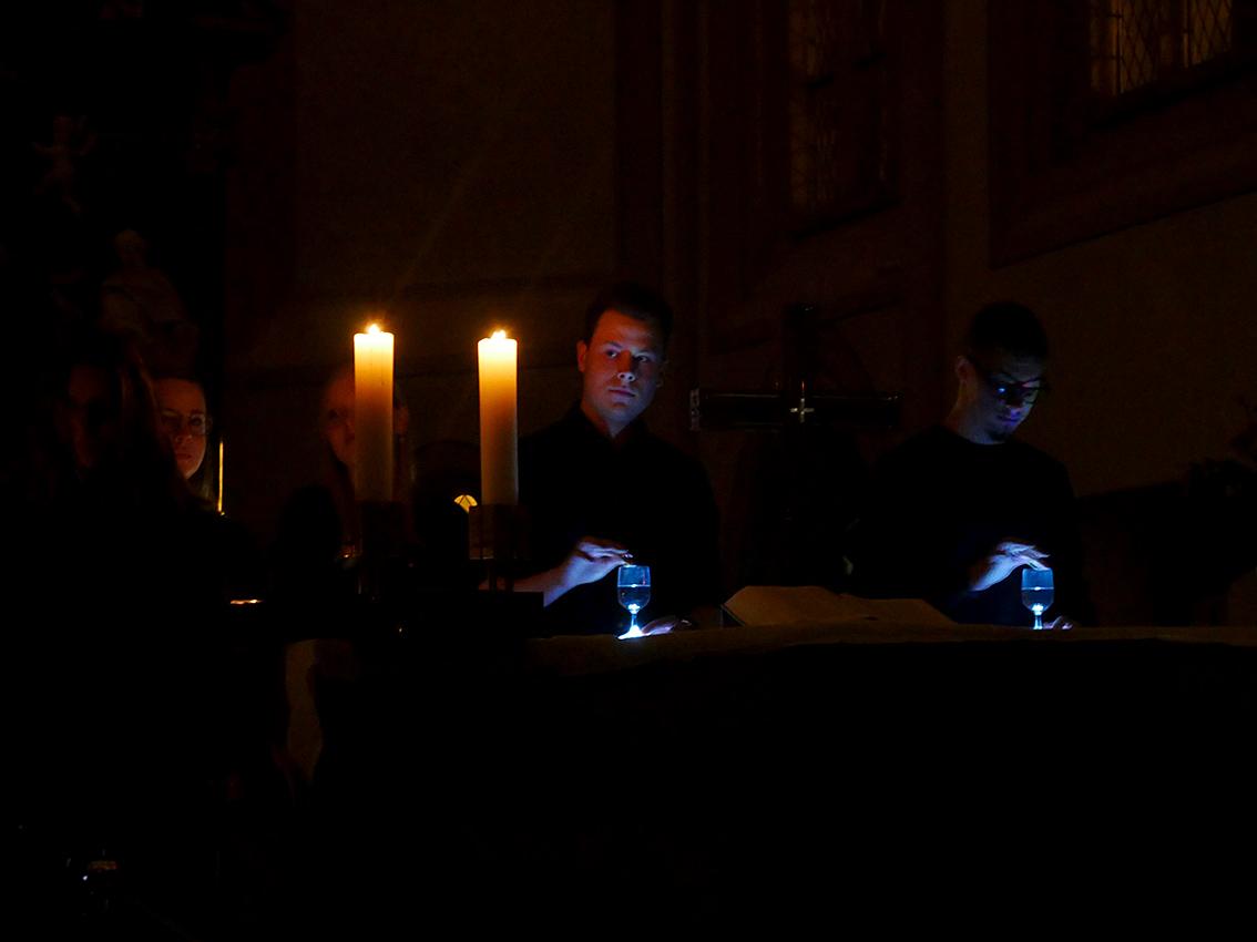Sound und Stimmung wie bei einem KRAFTWERK-Konzert   Foto: A. Bubrowski/CJD Oberurff