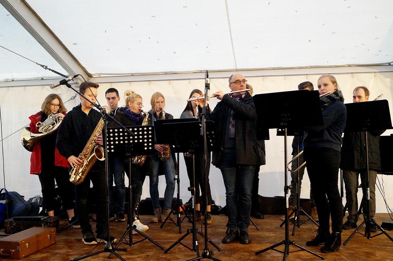 Akustisches weihnachtliches Ambiente | Foto: LM Meckbach/CJD Oberurff