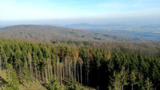 Kellerwald von oben   Foto: Dennis Ruhwedel/CJD Oberurff