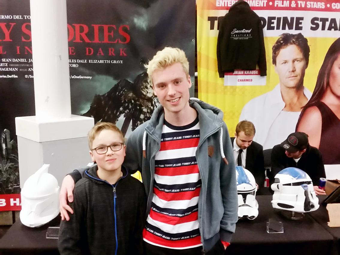 "Tom vom Star-Wars-Youtube- Kanal: ""212th - Tom & Taha"" und ich"