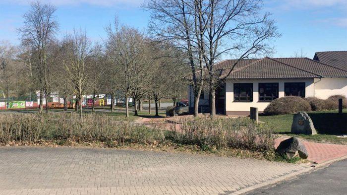 Nach dem Ende der Osterferien bleibt der Campus des CJD Oberurff voraussichtlich bis Anfang Mai leer. Foto: BUB