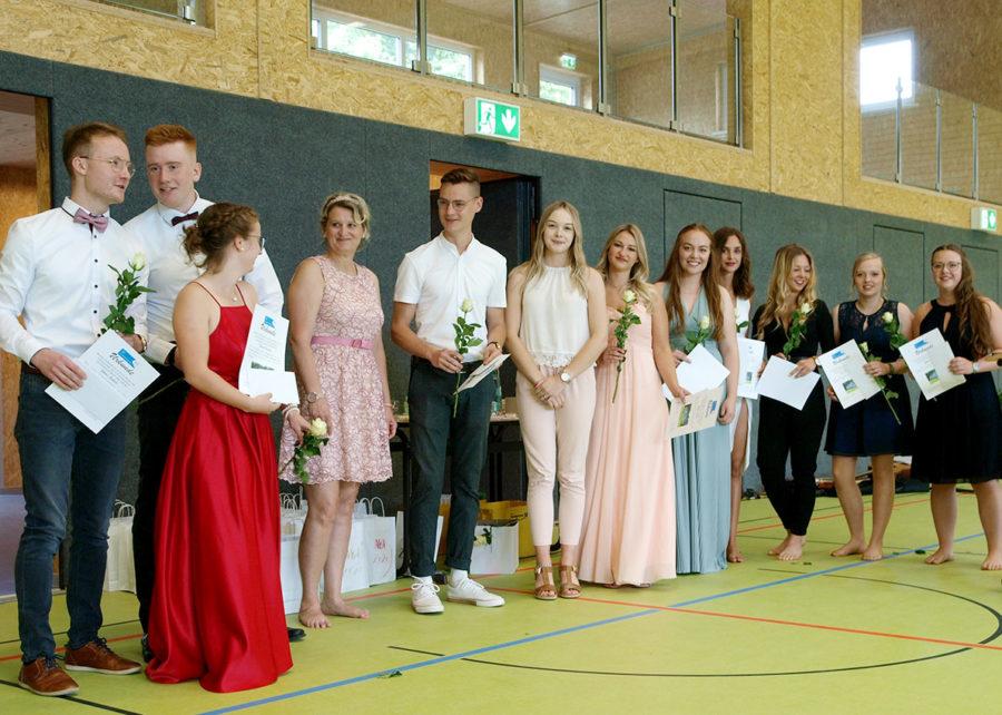 Verabschiedung der SV-Mitglieder unter den Abiturienten | Foto: A. Bubrowski/CJD Oberurff
