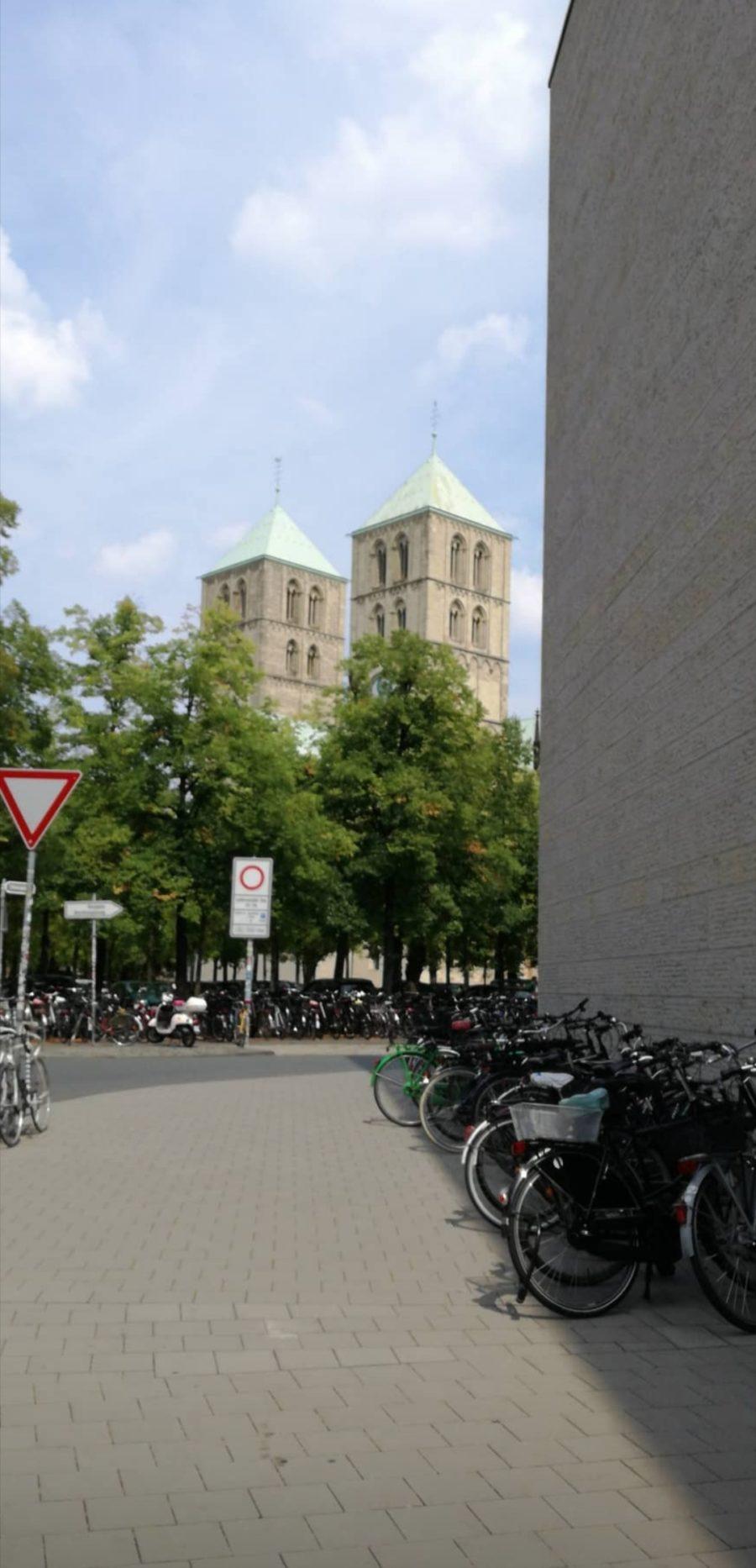 Blick auf den Dom von Münster