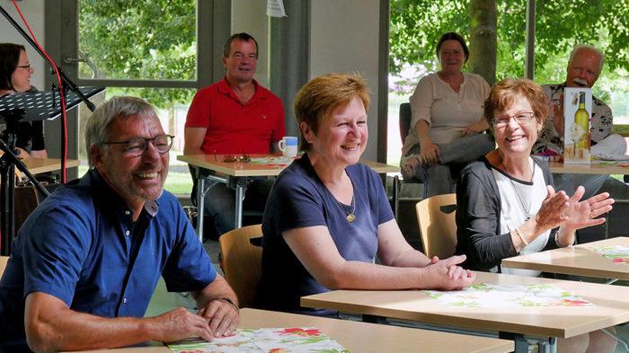 Verabschiedungen von Jürgen Haas, Anne Strube und Anita Verch (v. l.). Foto: A. Bubrowski/CJD Oberurff