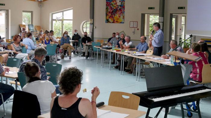 Vorbereitungskonferenz Schuljahr 2020-21 | Foto: A. Bubrowski/CJD Oberurff