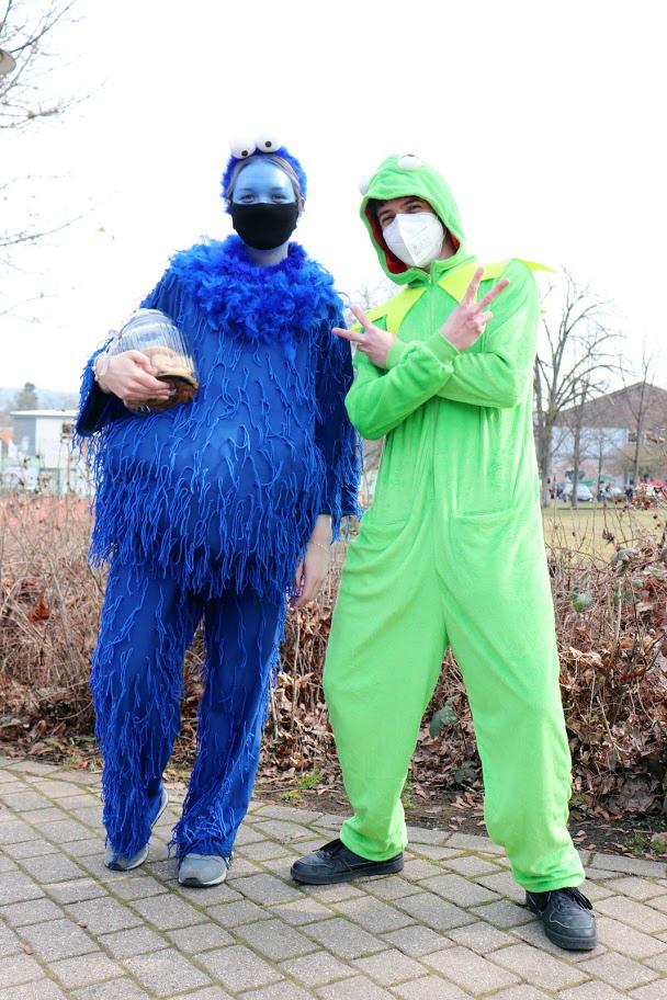 Das Krümelmonster und The Muppets | Foto: Nicolas Werner/CJD Oberurff