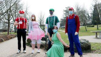 Super Mario und dessen Freunde | Foto: Nicolas Werner/CJD Oberurff