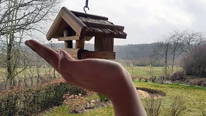 Vogelhäuschen: Aaron M, 8a. Foto: Aaron/CJD Oberurff
